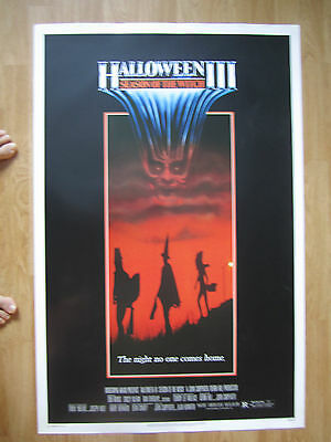Movie Poster: HALLOWEEN III  SEASON OF THE WITCH