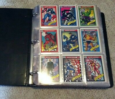 1990 MARVEL UNIVERSE SERIES 1 CARDS. NM. Pick 3 cards.