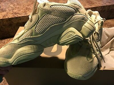 3814ef1fc3f ADIDAS YEEZY 500 Super Yellow Moon Supermoon DB2966 100% Authentic ...