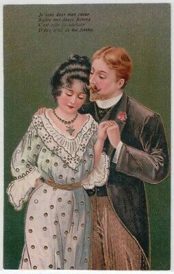 Postcard: French Romance I Have The Gentle Flame In My Heart For My Wife P10
