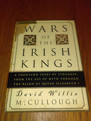 Wars of the Irish Kings by David Willis McCullough (2000, Hardcover) 1st/1st #bg