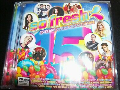 So Fresh: 15 Years Of The Greatest Hits Various Artists 2 CD – New