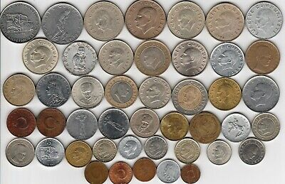 45 different world coins from TURKEY