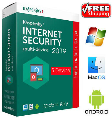Kaspersky INTERNET Security 2019 / 5PC /User /1 Year /5 Device / Download 18.45$
