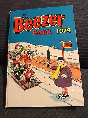 The Beezer Book 1974 - Vintage Comic Annual - unclipped