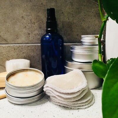 Handmade Reusable Makeup Wipes - Face pads Australia cloth wipes cosmetic eco