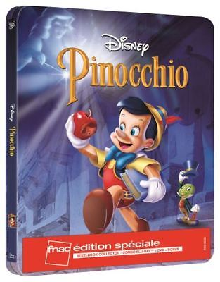 PINOCCHIO  Steelbook Edition spéciale Fnac Blu-ray NEUF SOUS BLISTER