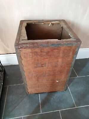 Tea Chest - to upcycle Retro / Vintage Industrial Box Storage... PROP OR DISPLAY