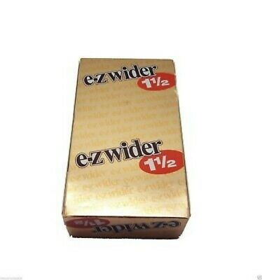 Ez Wider 1.5 Gold Rolling Papers 24 Pk