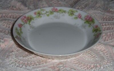 Vtg WM Guerin & Co. Limoges France Dessert Dish Bread Plate Floral Small Bowl