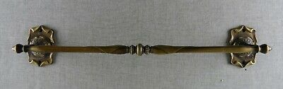 """Amerock Carriage House Towel Bar 21"""" Brass Wall Mount Antique English Vintage"""