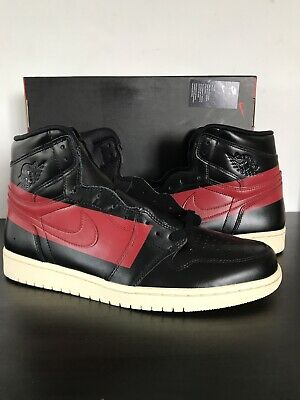 newest 741c7 d9db3 Nike Air Jordan 1 High OG Defiant Couture Black Gym Red BQ6682 006 Men s  Size 11