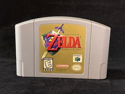 The Legend of Zelda Ocarina of Time Nintendo 64 N64 Video Game Cartridge