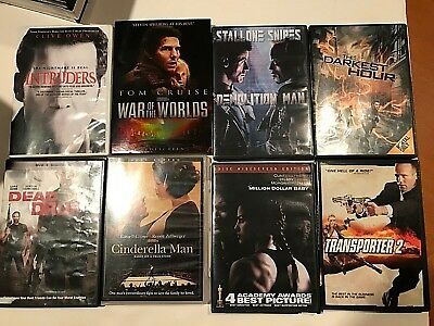 Assorted 24 Movie DVD's  Excellent Condition Titles Some BlueRay See Pic's