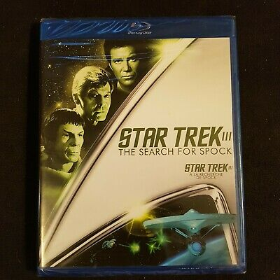 STAR TREK III - THE SEARCH FOR SPOCK - Bluray (New & Sealed) Blu