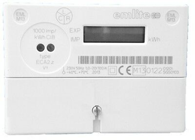 EMLITE ECA2 100A Electricity meter OFGEM Digital - BRAND NEW single phase