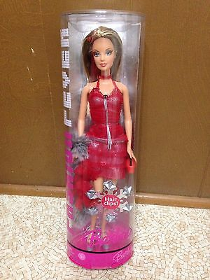 Barbie Doll Fashion Fever Mackie Face Sparkle And Shine Rooted Eyelashes Rare