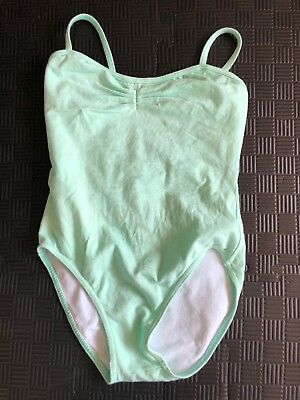 Bloch Womens Mint Green Leotard in Size Petite In Excellent Condition Unused