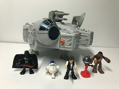 Star Wars Imaginext Millennium Falcon and figures