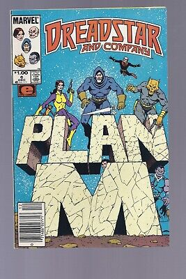 High Grade Canadian Newsstand Dreadstar and Company #6 $1.00 Price variant