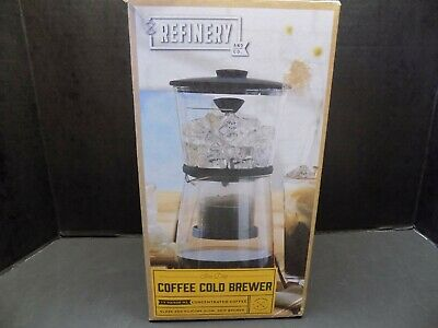 Refinery and Co. Coffee/Tea Cold Brewer, 17 OZ./500 ML~NEW (OTHER) IN BOX!