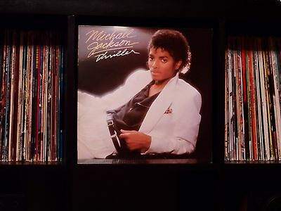 Michael Jackson ♫ Thriller ♫ Rare EX 1982 Epic Import Vinyl LP w/Textured Cover