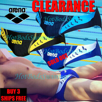 3b66038cc0 CLEARANCE Arena AST13104 Men's Low-Rise Competition Speedo Swimwear Briefs