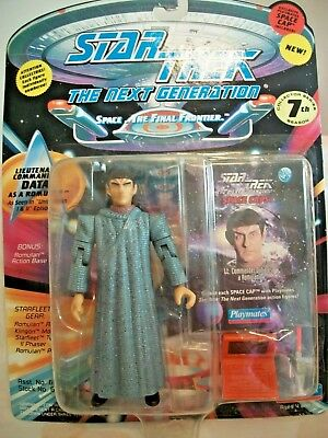 Star Trek Next Generation Final Frontier Figurine Lieut Comm Data Romulan