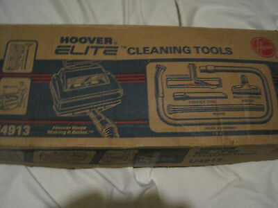 Vintage Hoover U4913 Elite Vacuum Cleaner 5 Piece Cleaning Tool Set