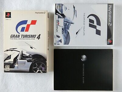 Gran Turismo 4 The Real Driving Simulator PS2 Sony Playstation 2 From Japan
