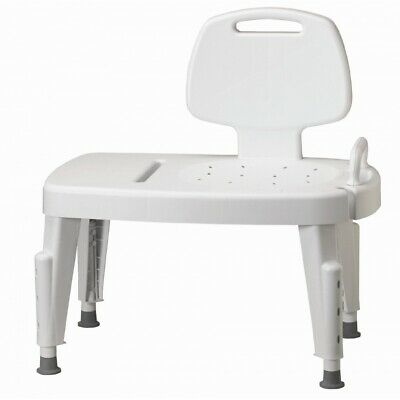 Bath Tub Chair Adjustable Shower Transfer Bench Safety Seat Heavy Duty