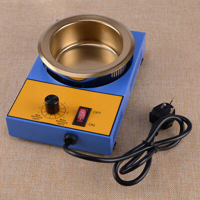 220V Stainless Steel Solder Soldering Pot 300W 100MM Desoldering Bath 1200g