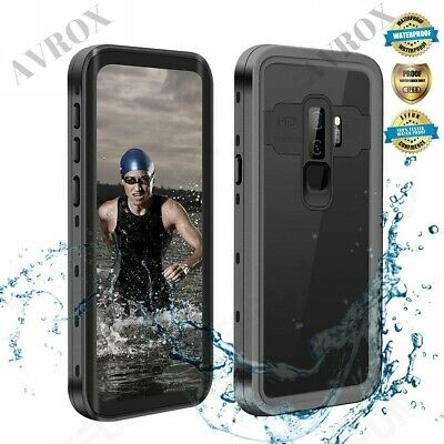 For Samsung Galaxy S9 Plus Case Waterproof Shockproof Fre with Screen Protector