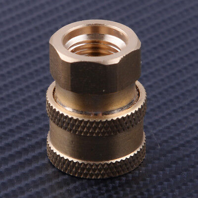 """Copper Pressure Washer 1/4"""" Female NPT Brass Quick Connect Socket Adapter"""