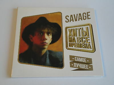 Savage - Hits At All Times. The best Brand New, Sealed, Digi-Pack