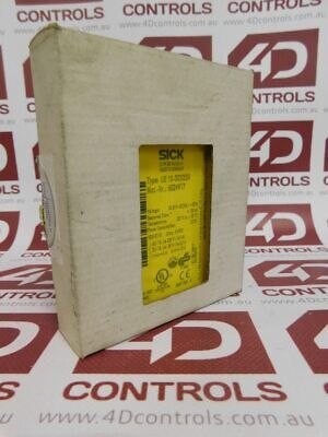 Sick UE 10-3OS2D0 Safety Relay 24VDC 2.2W - New Surplus Open