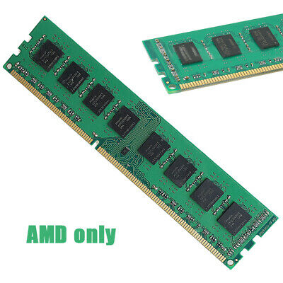 4 GB Go DDR3 1600 MHz PC3-12800 CL11 240pin Non ECC Mémoire PPOUR Bureau RAM AMD