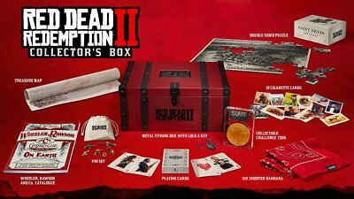 Red Dead Redemption II 2 Collector NO GAME SOLD OUT Content in English/Frenc Box