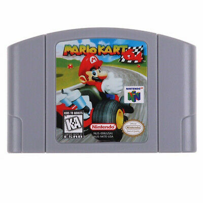 Mario Kart 64 Video Game Card US/CAN Version For Nintendo N64 Game