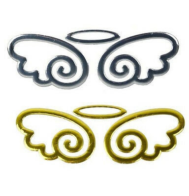 New Cute Angel Fairy Wings 3D Sticker Auto Car Logo Emblem Badge Decal  CAR017 A