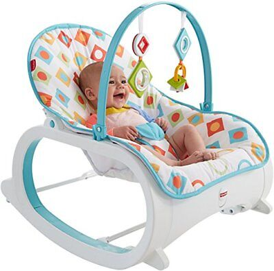 Infant Rocker Baby Seat Bouncer Swing Newborn Toddler Chair Portable Sleeper Toy