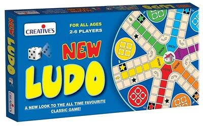 CRE0816 - Creative Games - New Ludo - for 2 to 6 players