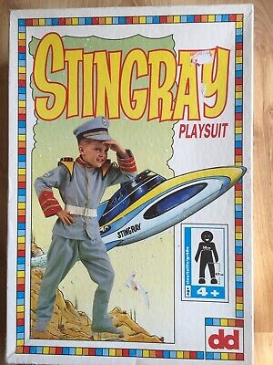 Rare Stringray Playsuit - Age 4+ Gerry Anderson 1992