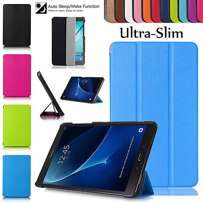 """Samsung Galaxy Tab E 9.6"""" Inch T560-T561 Smart Leather Stand Magnetic Case Cover"""
