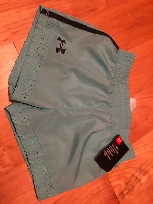 Under Armour Girls 4 Shorts Heat Gear Brand New With Tags Adorable UA