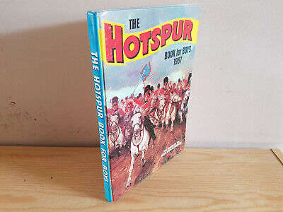 HOTSPUR BOOK FOR BOYS 1967 from Hotspur Comic V. NICE!