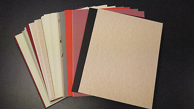 """Mountboard 10""""x7"""" 40 pieces for artists, sketches, card crafting off cuts"""
