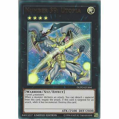Number 39: Utopia DUPO-EN104 - Ultra Rare Card - Limited Edition - Yu-Gi-Oh! TCG