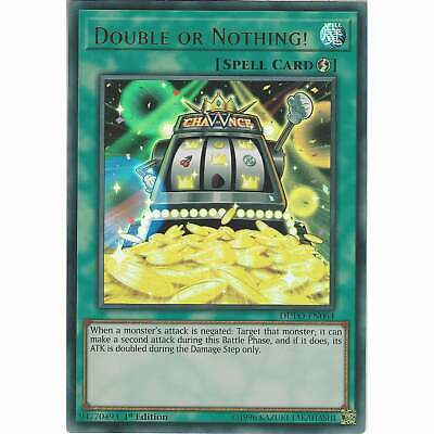 Double or Nothing! DUPO-EN064 Ultra Rare Card - 1st Edition Yu-Gi-Oh! Duel Power