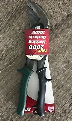 Malco M2007C MAX2000 Classic Offset Right Cut Aviation Snips